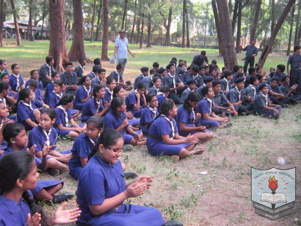 Scout Guide Camp In School