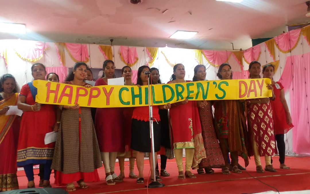CHILDREN'S DAY CELEBRATION ( PRIMARY SECTION).