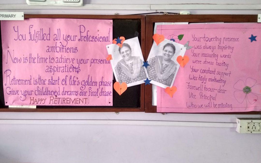 Fond Farewell to Ms. Malika