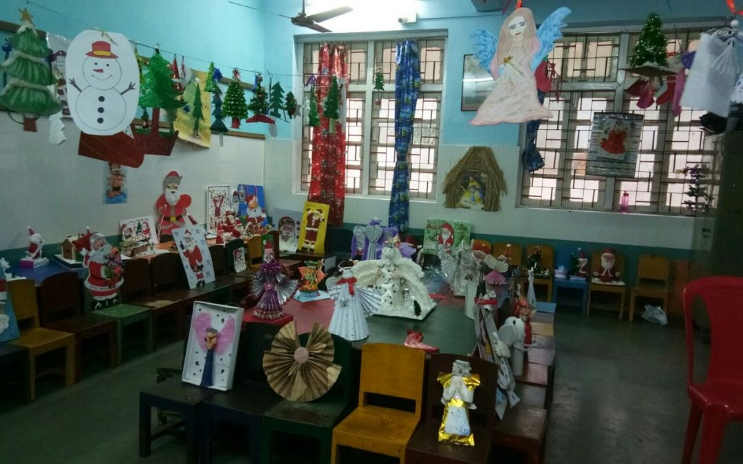CHRISTMAS EXHIBITION  (Pre-PRIMARY)