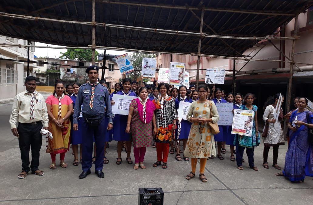 Rally on Dengue & Malaria Awareness